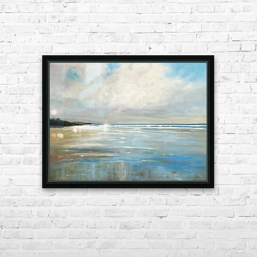 Reflections by the Shore HD Sublimation Metal print with Decorating Float Frame (BOX)