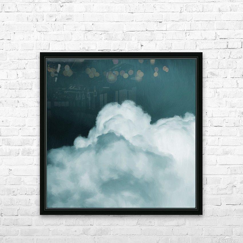 Grandis I   Corinne Melanie Art HD Sublimation Metal print with Decorating Float Frame (BOX)