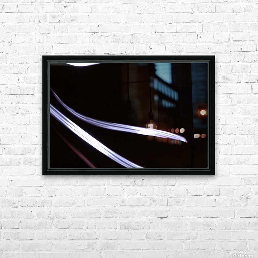 The Stream HD Sublimation Metal print with Decorating Float Frame (BOX)