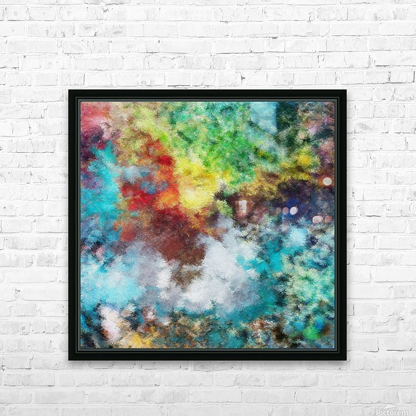 Parturition of Light HD Sublimation Metal print with Decorating Float Frame (BOX)