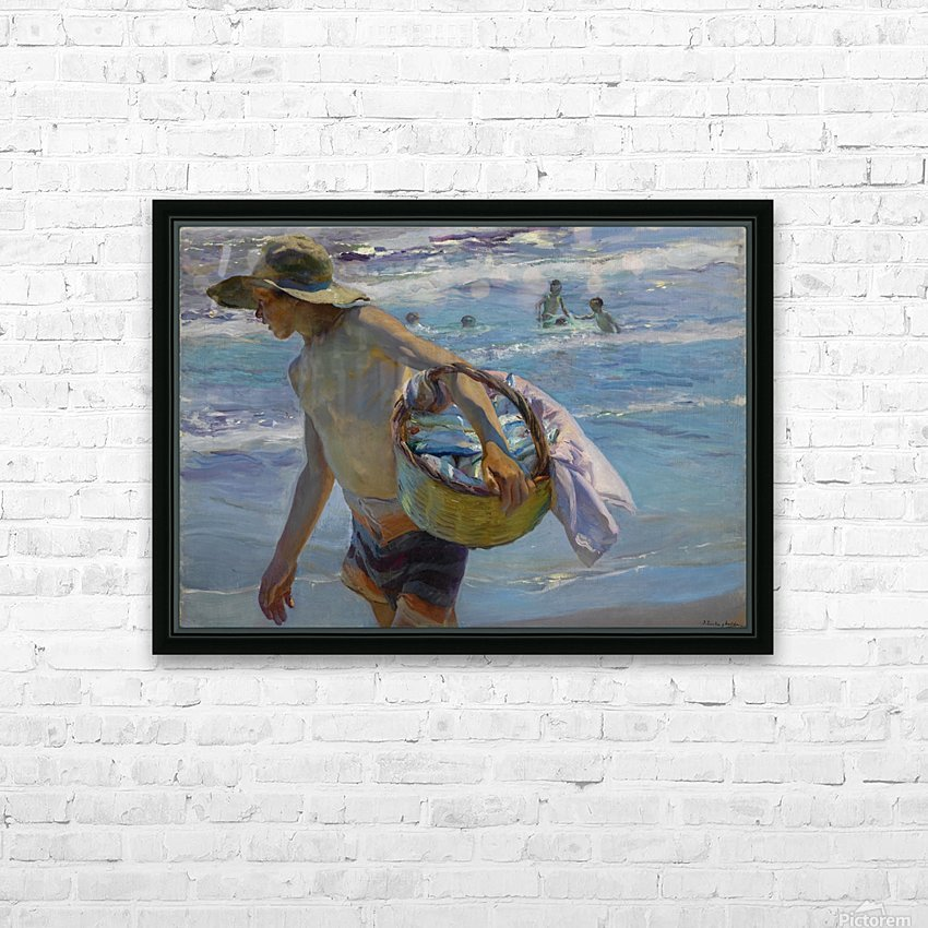 Pescador HD Sublimation Metal print with Decorating Float Frame (BOX)
