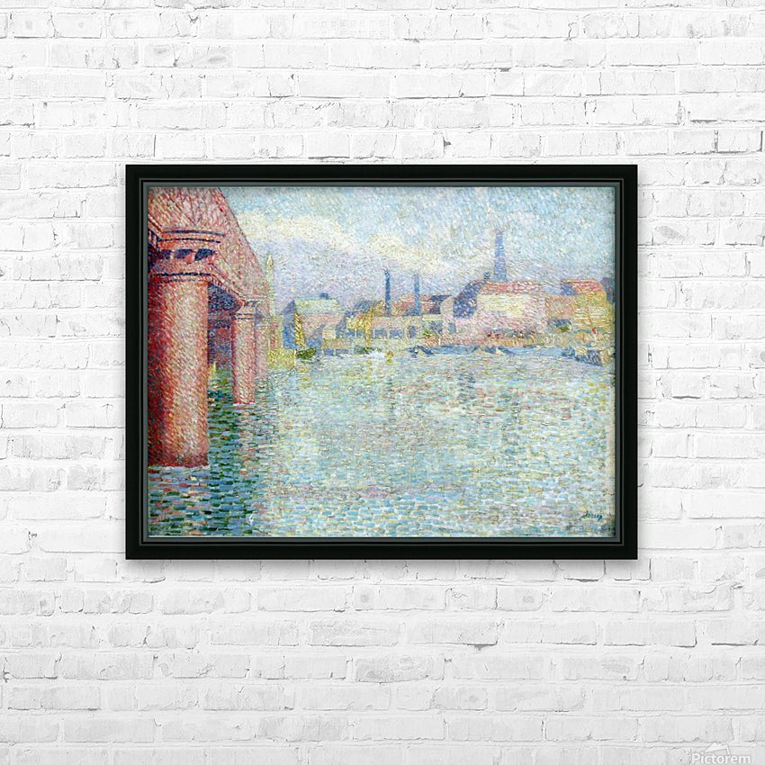 Toorop Brug in Londen anagoria HD Sublimation Metal print with Decorating Float Frame (BOX)