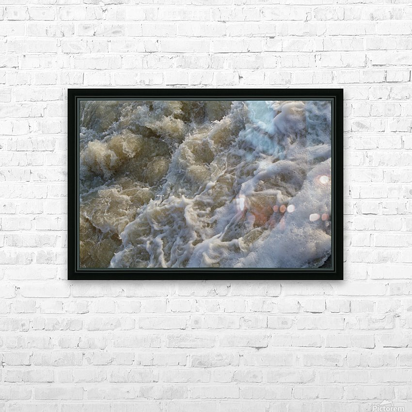 Rapids HD Sublimation Metal print with Decorating Float Frame (BOX)