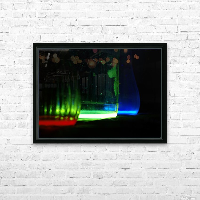 Elixirs HD Sublimation Metal print with Decorating Float Frame (BOX)