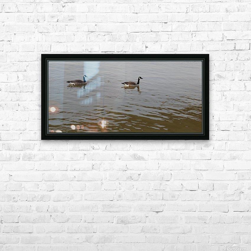Mates HD Sublimation Metal print with Decorating Float Frame (BOX)