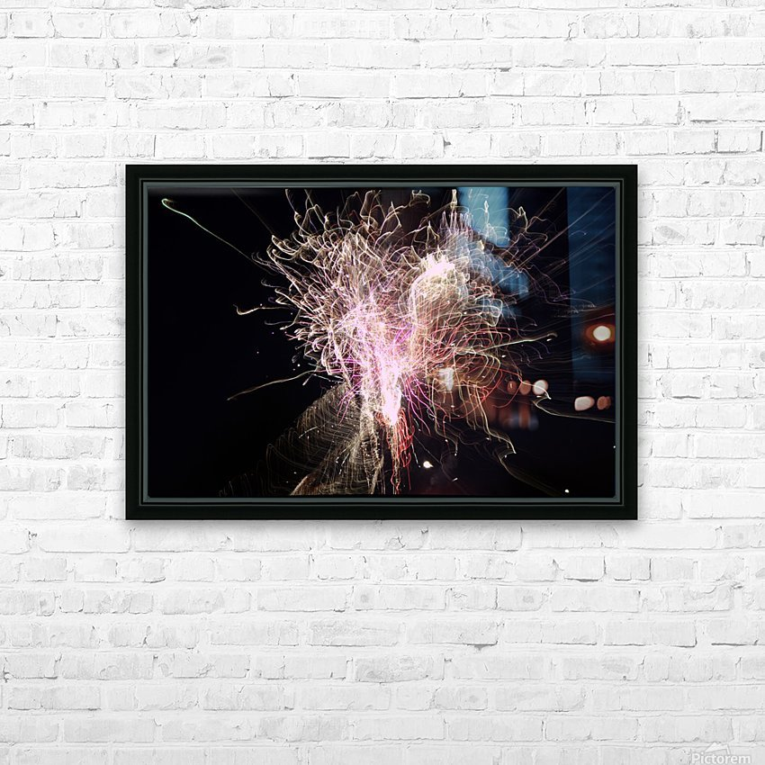 Streamers 2 HD Sublimation Metal print with Decorating Float Frame (BOX)