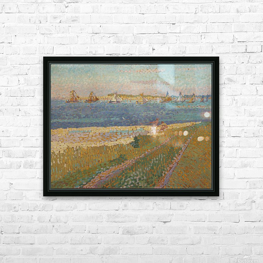 The Schelde near Veere HD Sublimation Metal print with Decorating Float Frame (BOX)