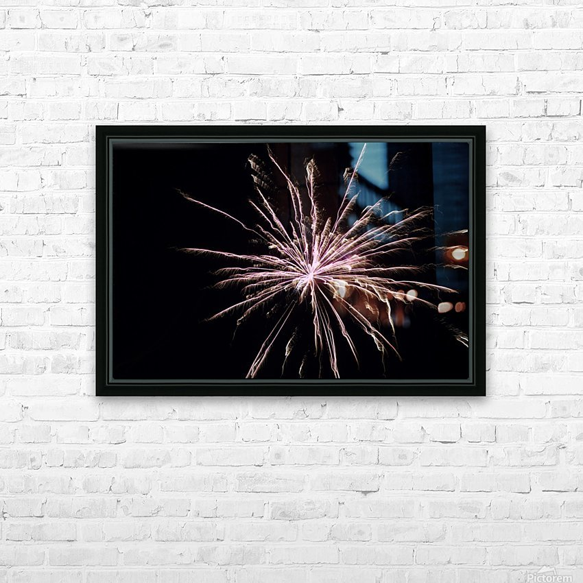 Explosion HD Sublimation Metal print with Decorating Float Frame (BOX)