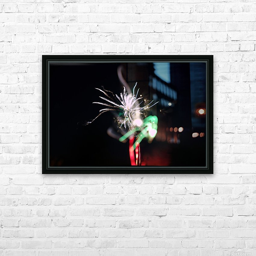Sparkler 2 HD Sublimation Metal print with Decorating Float Frame (BOX)