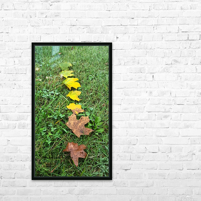 Stages of Life HD Sublimation Metal print with Decorating Float Frame (BOX)