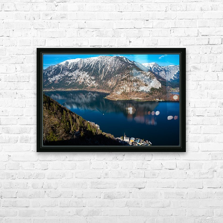 Dream Blue HD Sublimation Metal print with Decorating Float Frame (BOX)