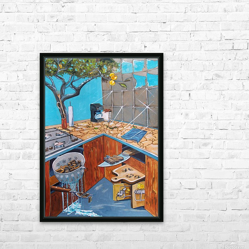visions lurking in common places HD Sublimation Metal print with Decorating Float Frame (BOX)