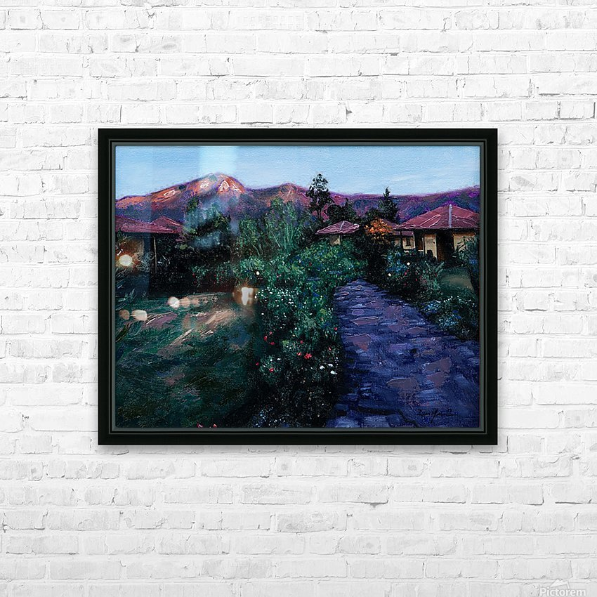 peru HD Sublimation Metal print with Decorating Float Frame (BOX)