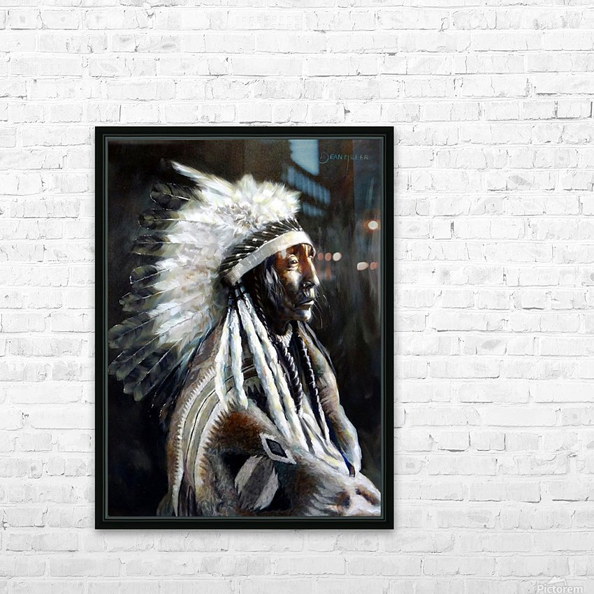 Chief HD Sublimation Metal print with Decorating Float Frame (BOX)