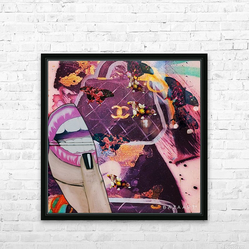 wetgwg HD Sublimation Metal print with Decorating Float Frame (BOX)