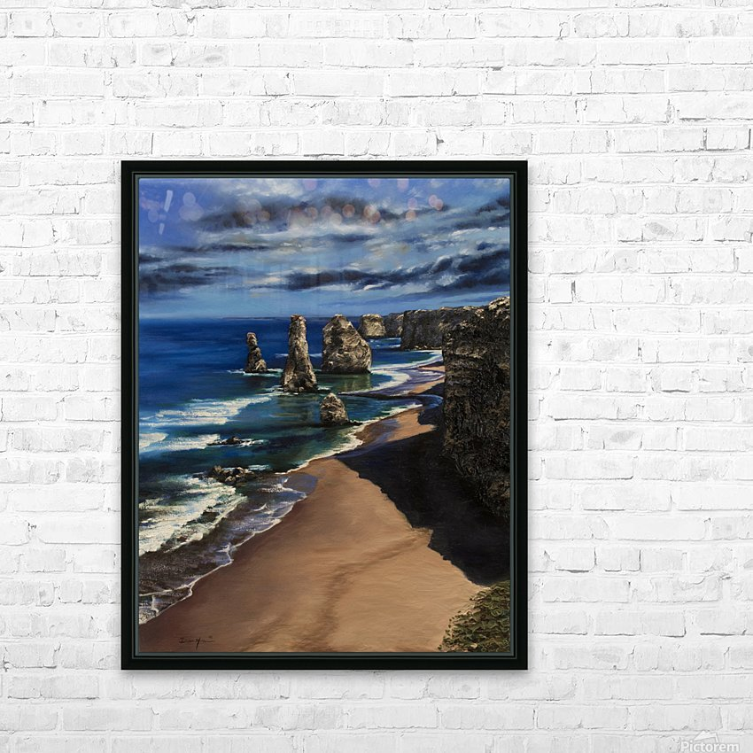 12 Apostles Australia  HD Sublimation Metal print with Decorating Float Frame (BOX)