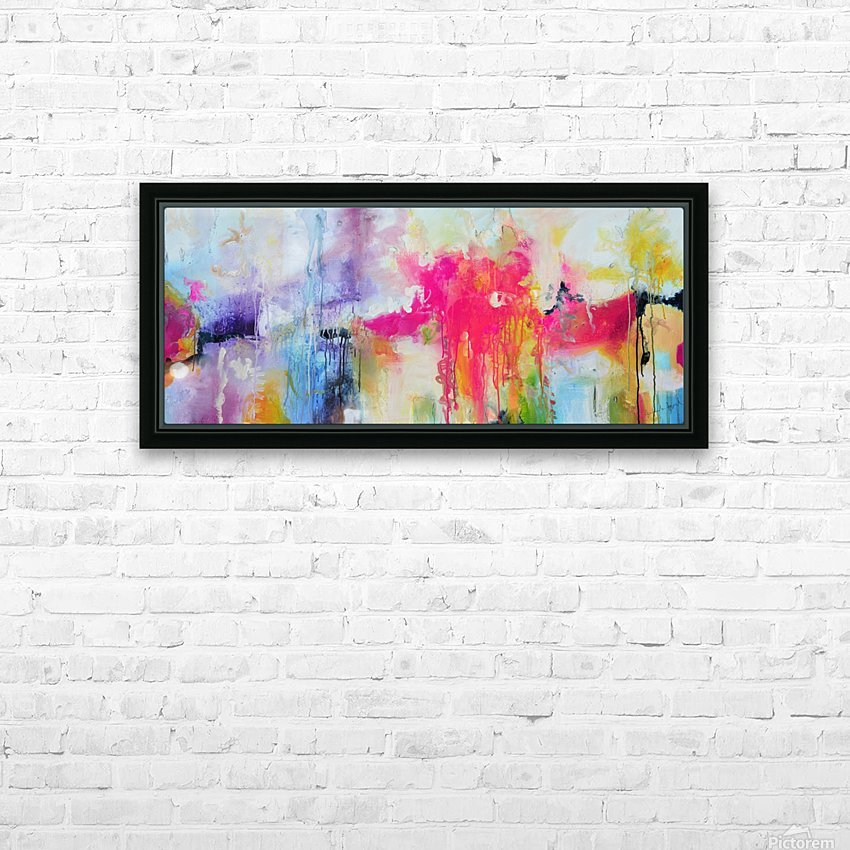 Abstract 32 HD Sublimation Metal print with Decorating Float Frame (BOX)