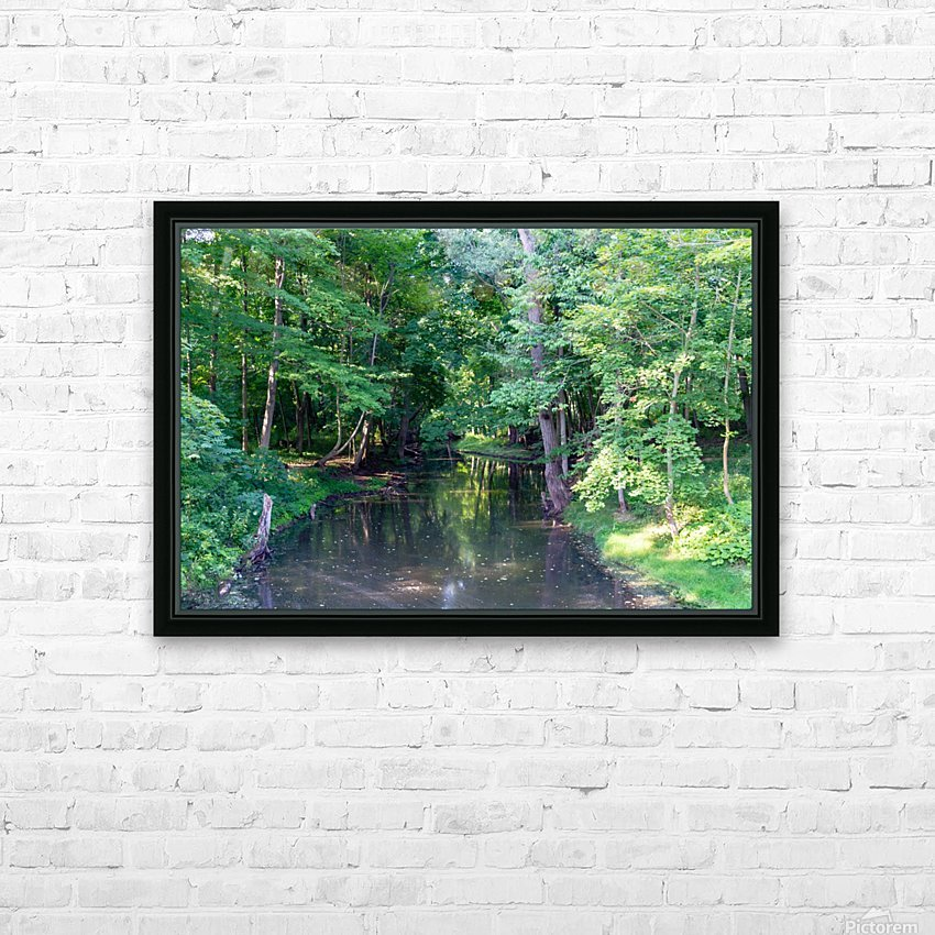 Holley Erie Canal Falls 3 HD Sublimation Metal print with Decorating Float Frame (BOX)