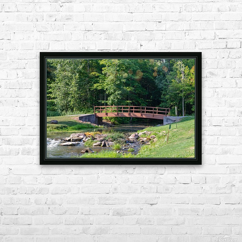Holley Erie Canal Falls 5 HD Sublimation Metal print with Decorating Float Frame (BOX)