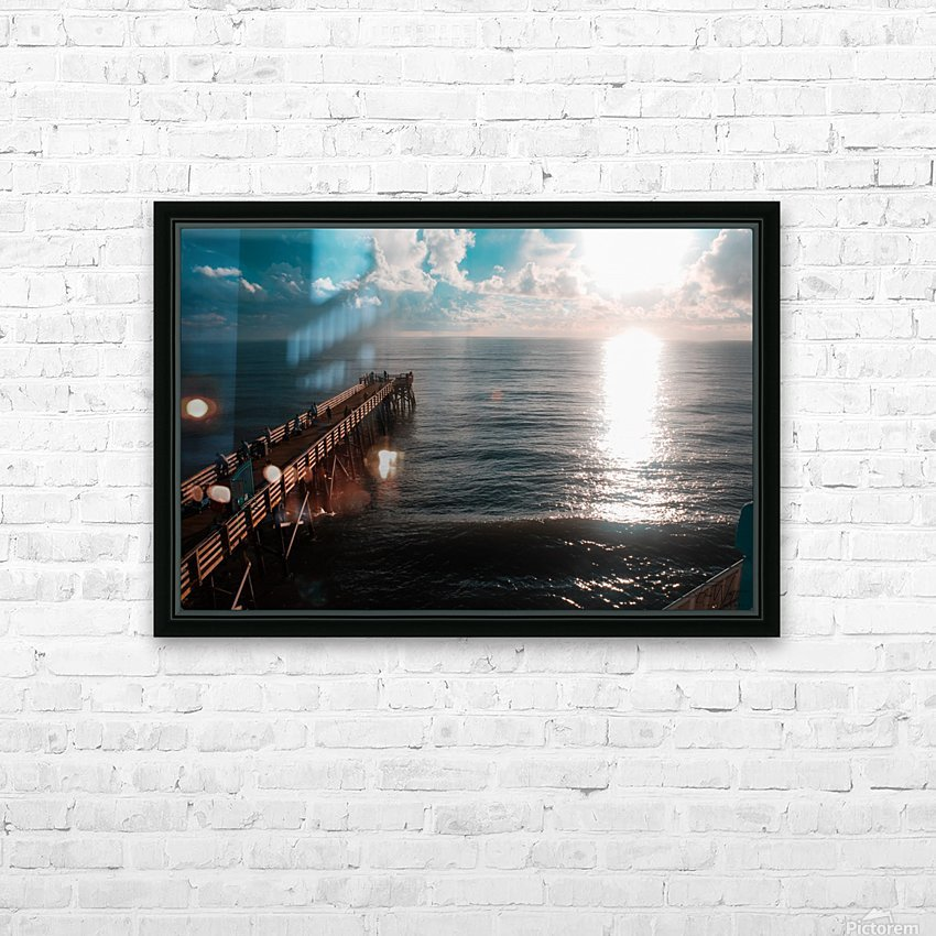 Blue majestic HD Sublimation Metal print with Decorating Float Frame (BOX)