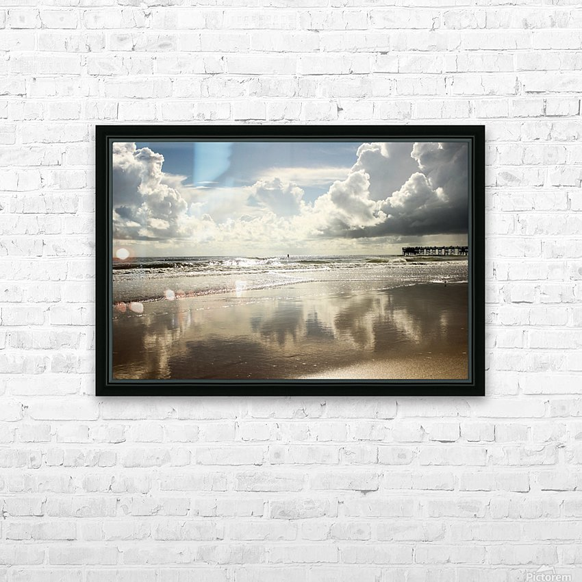 Golden Eye HD Sublimation Metal print with Decorating Float Frame (BOX)