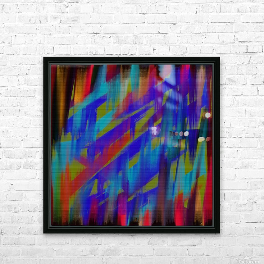Abstract Me HD Sublimation Metal print with Decorating Float Frame (BOX)