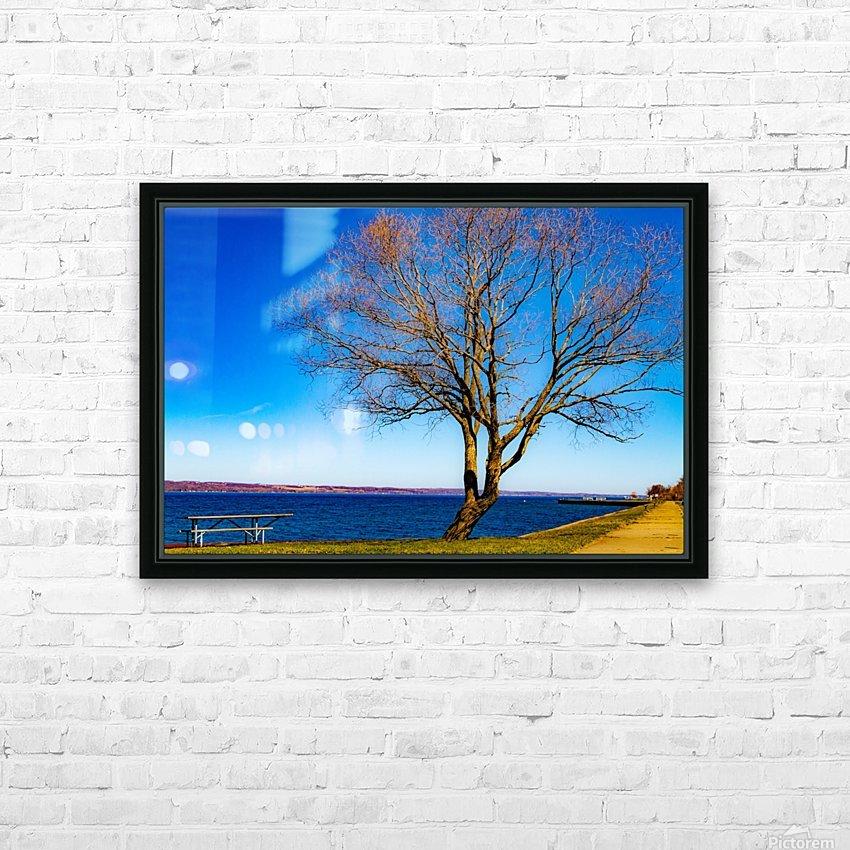Seneca Springtime HD Sublimation Metal print with Decorating Float Frame (BOX)