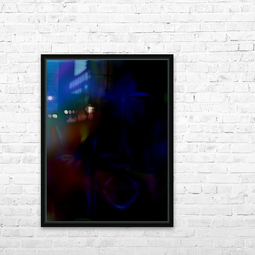 New face HD Sublimation Metal print with Decorating Float Frame (BOX)