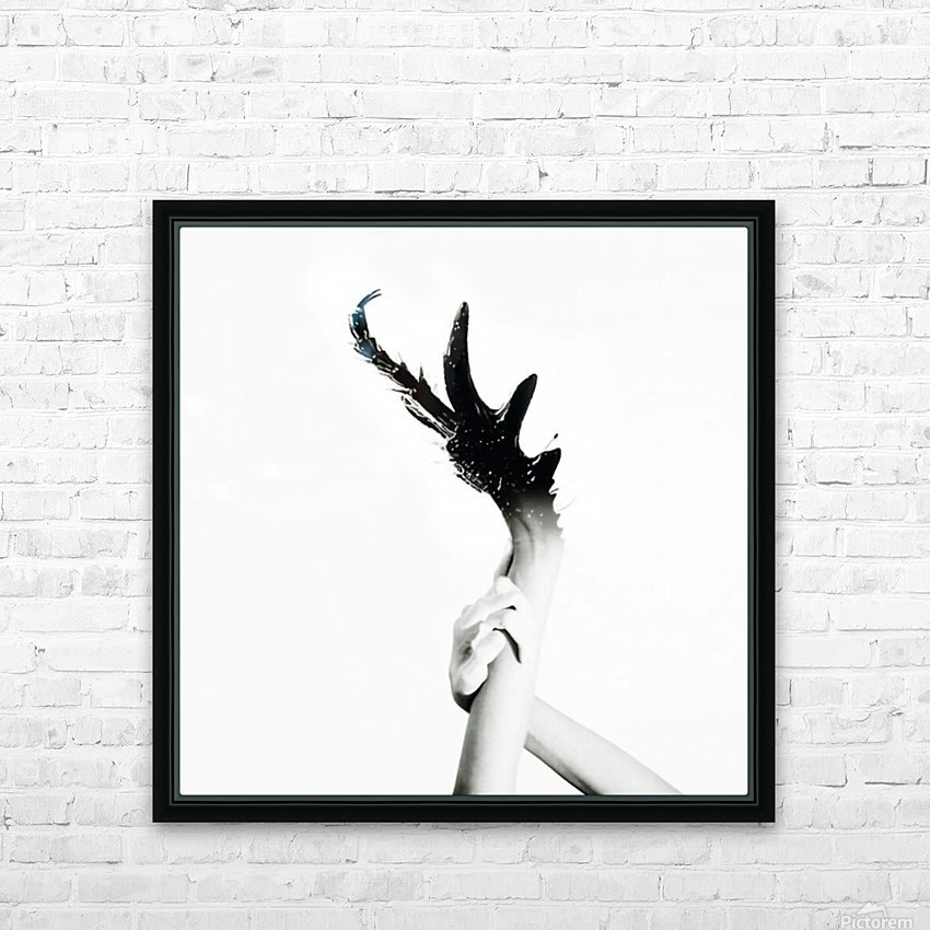 Morphing Ink HD Sublimation Metal print with Decorating Float Frame (BOX)