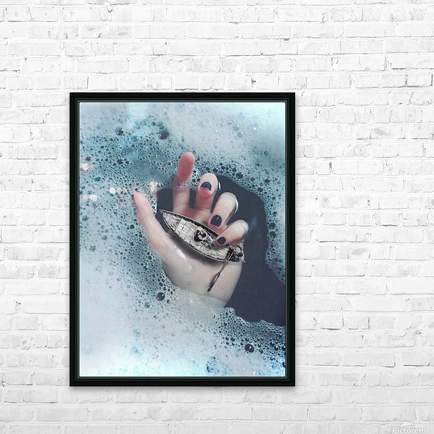 Guide Me In Your Ocean HD Sublimation Metal print with Decorating Float Frame (BOX)