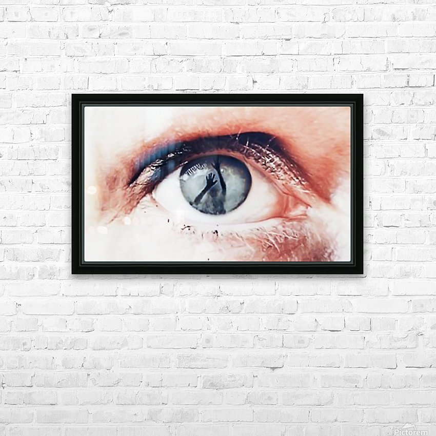 Trapped HD Sublimation Metal print with Decorating Float Frame (BOX)
