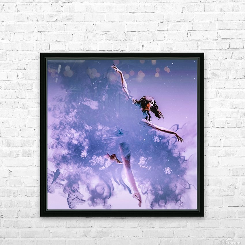 Smoke & Mirrors HD Sublimation Metal print with Decorating Float Frame (BOX)