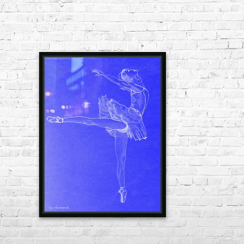Celestial Ballerina HD Sublimation Metal print with Decorating Float Frame (BOX)