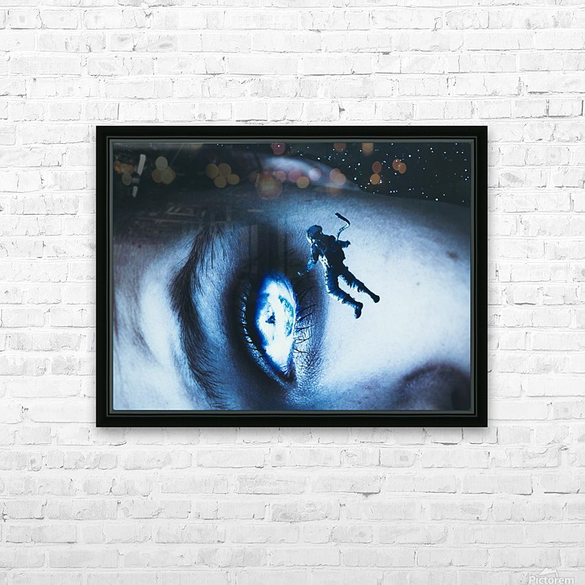 Lost In Your Eyes HD Sublimation Metal print with Decorating Float Frame (BOX)