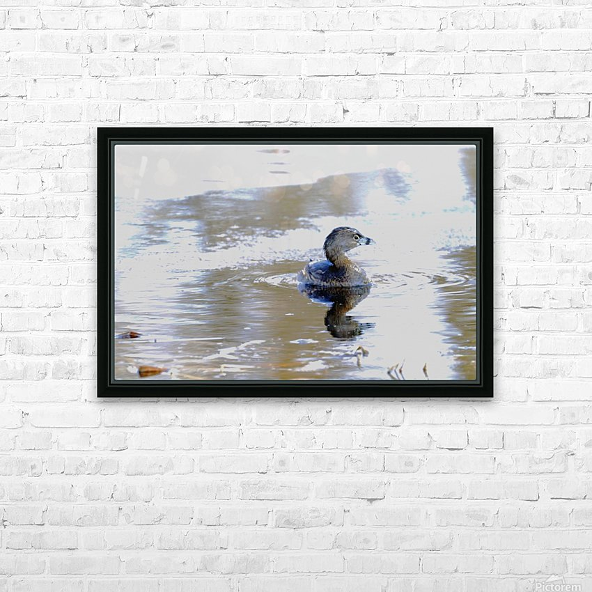 Part Bird Part Submarine HD Sublimation Metal print with Decorating Float Frame (BOX)