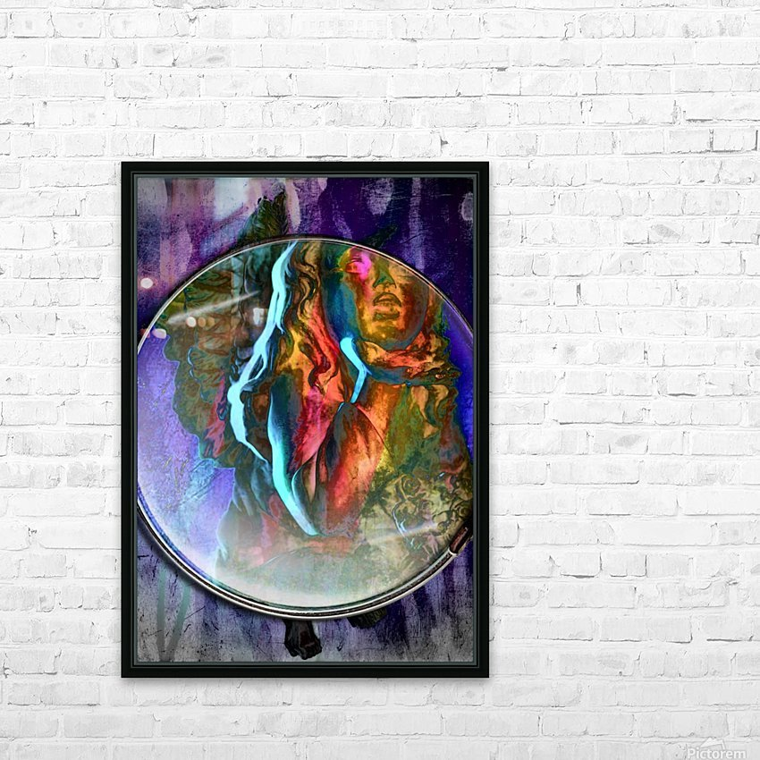 The Child Angel HD Sublimation Metal print with Decorating Float Frame (BOX)