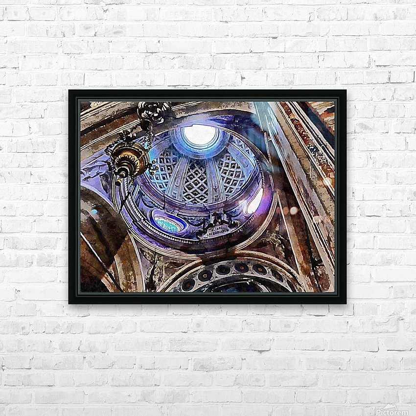Altare Gregorianum HD Sublimation Metal print with Decorating Float Frame (BOX)