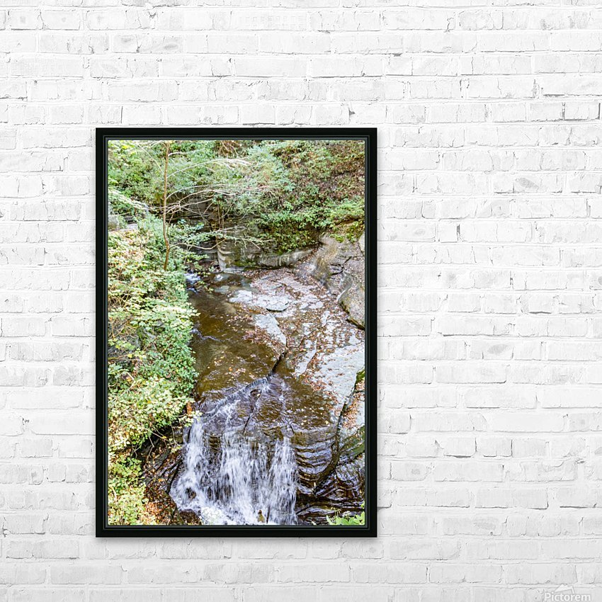 Eagle Cliff Falls 4 HD Sublimation Metal print with Decorating Float Frame (BOX)