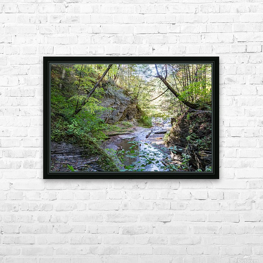Eagle Cliff Falls 19 HD Sublimation Metal print with Decorating Float Frame (BOX)