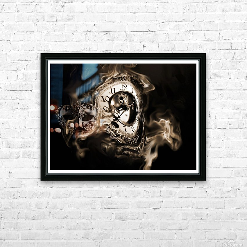 Father Time HD Sublimation Metal print with Decorating Float Frame (BOX)