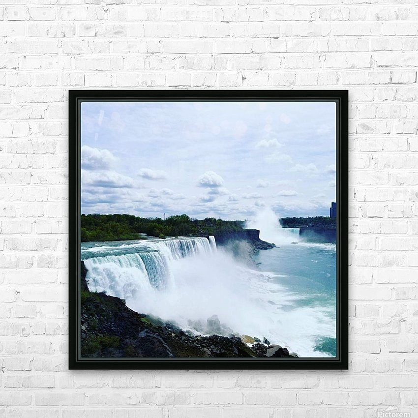 Niagara HD Sublimation Metal print with Decorating Float Frame (BOX)