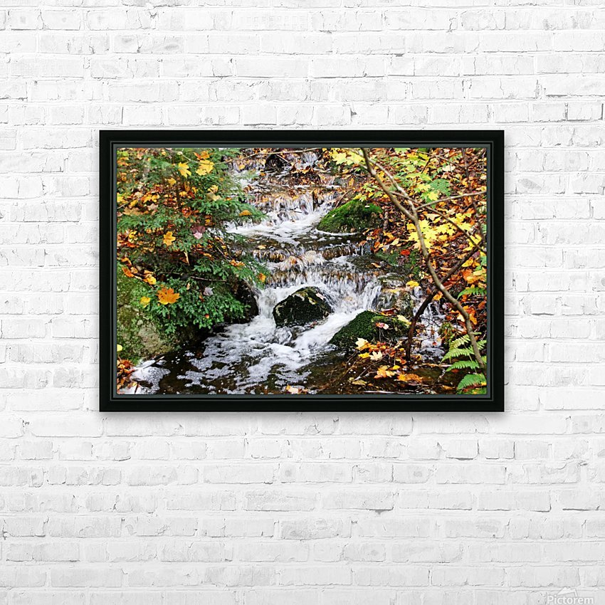 Autumn Flow HD Sublimation Metal print with Decorating Float Frame (BOX)
