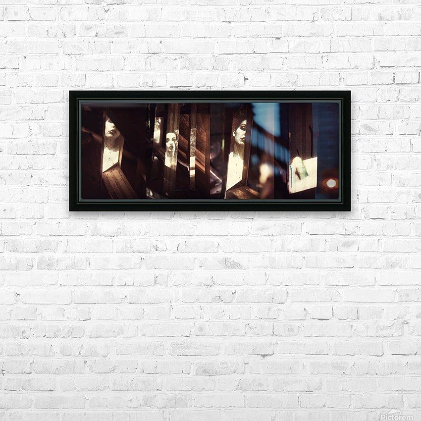 Intermédialité HD Sublimation Metal print with Decorating Float Frame (BOX)