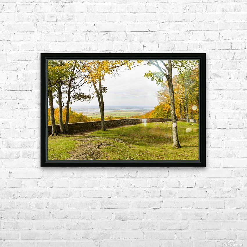 View of Ottawa Valley in Autumn 33 HD Sublimation Metal print with Decorating Float Frame (BOX)