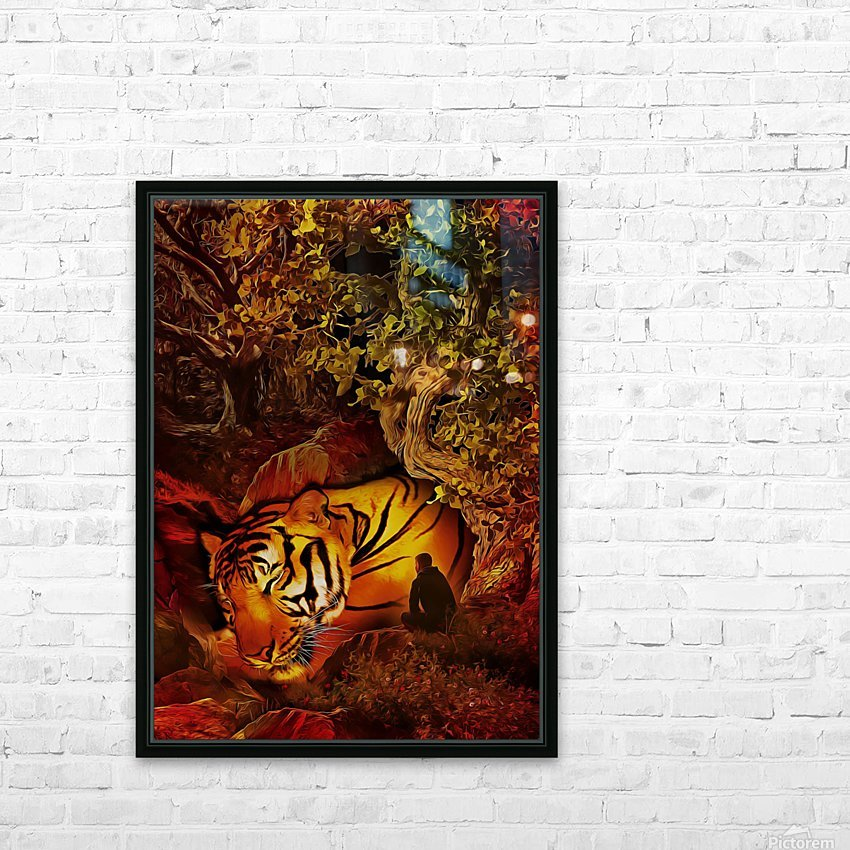 The Guardian HD Sublimation Metal print with Decorating Float Frame (BOX)