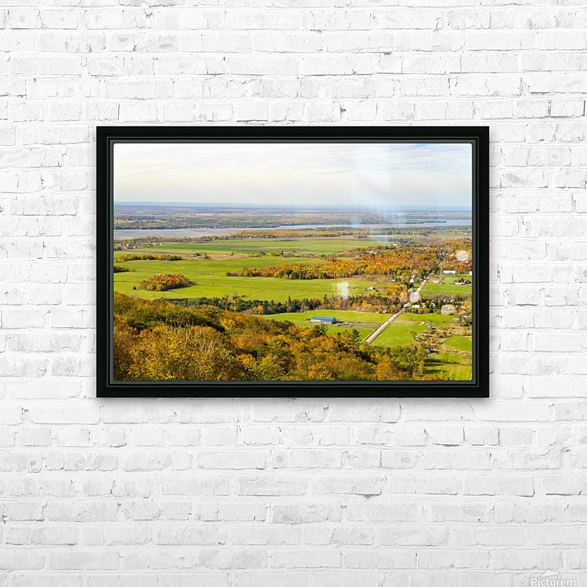 View of Ottawa Valley in Autumn17 HD Sublimation Metal print with Decorating Float Frame (BOX)