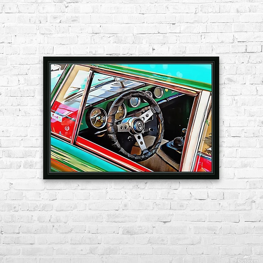 Innocenti Through the Window HD Sublimation Metal print with Decorating Float Frame (BOX)