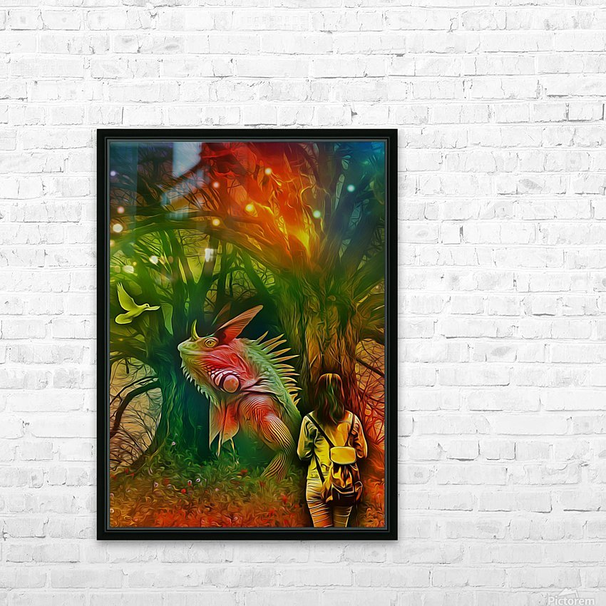 Keeper of the Tree 2 HD Sublimation Metal print with Decorating Float Frame (BOX)