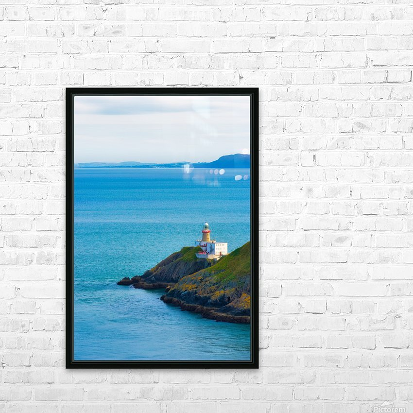 HOWTH 03 HD Sublimation Metal print with Decorating Float Frame (BOX)