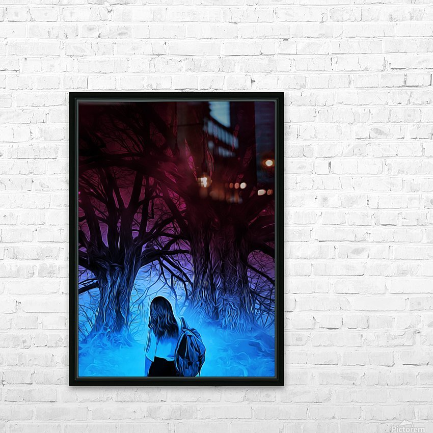 The Journey HD Sublimation Metal print with Decorating Float Frame (BOX)